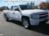 2011 Summit White Chevrolet Silverado 1500 LT Extended Cab #40134475