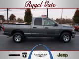 2008 Mineral Gray Metallic Dodge Ram 1500 ST Quad Cab 4x4 #40133588
