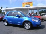 2007 Techno Blue Metallic Suzuki SX4 Sport AWD #4015409