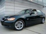 2008 Deep Green Metallic BMW 3 Series 328xi Sedan #40133609