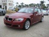 2011 Vermillion Red Metallic BMW 3 Series 328i Sedan #40133642