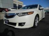 2010 Premium White Pearl Acura TSX V6 Sedan #40134594