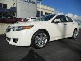 2010 Acura TSX Premium White Pearl
