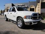 2004 Bright White Dodge Ram 1500 SLT Quad Cab #40134274