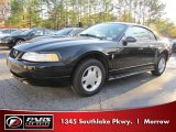 2000 Black Ford Mustang V6 Coupe #40134619