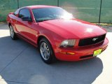 2007 Torch Red Ford Mustang V6 Deluxe Coupe #40133978