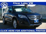 2011 Night Blue Metallic Volkswagen Tiguan SE 4Motion #40134722