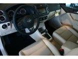 2011 Volkswagen Tiguan SE 4Motion Sandstone Interior