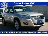 2011 White Gold Metallic Volkswagen Tiguan S #40134723
