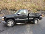 1999 Onyx Black Chevrolet Silverado 1500 LS Regular Cab 4x4 #40134729