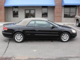 2002 Black Chrysler Sebring GTC Convertible #4012274