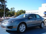 2011 Steel Blue Metallic Ford Fusion SE #40218609