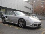 2007 GT Silver Metallic Porsche 911 Turbo Coupe #40219158