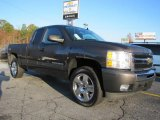 2010 Taupe Gray Metallic Chevrolet Silverado 1500 LT Extended Cab 4x4 #40218876