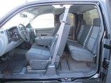 2011 Chevrolet Silverado 1500 LS Extended Cab Dark Titanium Interior