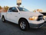 2010 Stone White Dodge Ram 1500 SLT Quad Cab #40218879