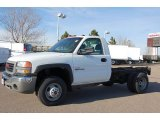 2006 GMC Sierra 3500 Work Truck Regular Cab 4x4 Dually Chassis