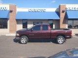 2004 Deep Molten Red Pearl Dodge Ram 1500 SLT Quad Cab 4x4 #4012287