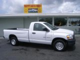 2006 Bright White Dodge Ram 1500 ST Regular Cab #4015397