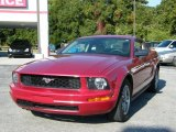2005 Redfire Metallic Ford Mustang V6 Premium Coupe #40218674