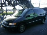 1997 Chrysler Town & Country Deep Hunter Green Pearl