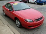 2003 Ford Escort Bright Red