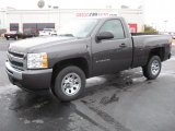 2011 Taupe Gray Metallic Chevrolet Silverado 1500 LS Regular Cab #40219060