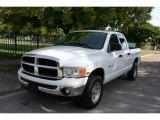 2004 Bright White Dodge Ram 1500 ST Quad Cab 4x4 #40218794