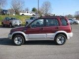 2000 Suzuki Grand Vitara Mars Red Metallic