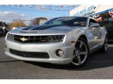 2010 Silver Ice Metallic Chevrolet Camaro SS/RS Coupe #40219476