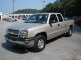 2004 Chevrolet Silverado 1500 Silver Birch Metallic