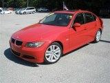 2008 Crimson Red BMW 3 Series 328i Sedan #40219502