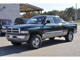 2001 Forest Green Pearl Dodge Ram 1500 SLT Club Cab 4x4 #40302449