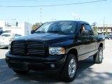 2003 Black Dodge Ram 1500 SLT Quad Cab 4x4 #40302329