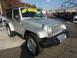 2008 Jeep Wrangler Bright Silver Metallic