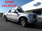 2010 Ingot Silver Metallic Ford F150 FX4 SuperCrew 4x4 #40302382