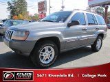 2002 Bright Silver Metallic Jeep Grand Cherokee Laredo #40302826
