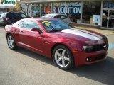 2010 Red Jewel Tintcoat Chevrolet Camaro LT Coupe #40302432