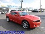 2010 Inferno Orange Metallic Chevrolet Camaro LT/RS Coupe #40302846