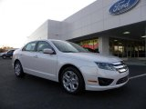 2011 White Platinum Tri-Coat Ford Fusion SE #40343478