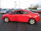 2007 Rallye Red Honda Civic EX Coupe #40343353