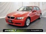 2008 Crimson Red BMW 3 Series 328xi Sedan #40353016