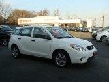2007 Super White Toyota Matrix  #40353222