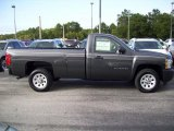2011 Taupe Gray Metallic Chevrolet Silverado 1500 Regular Cab 4x4 #40353458