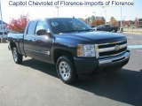 2011 Imperial Blue Metallic Chevrolet Silverado 1500 LS Extended Cab #40353680