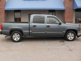 2006 Dark Blue Metallic Chevrolet Silverado 1500 LT Crew Cab #40353267