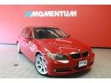 2008 Crimson Red BMW 3 Series 335i Sedan #40353503