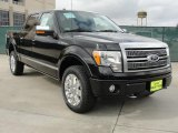 2010 Tuxedo Black Ford F150 Platinum SuperCrew 4x4 #40353287