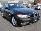 2008 Black Sapphire Metallic BMW 3 Series 328xi Sedan #40353538