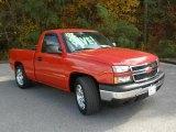 2007 Victory Red Chevrolet Silverado 1500 LT Regular Cab #40353764